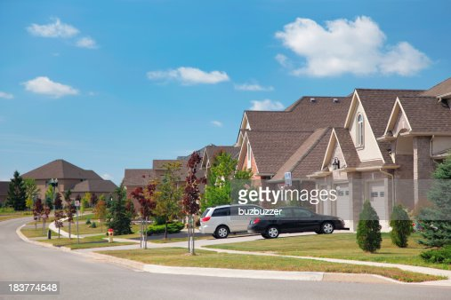 Modern Residential Urban Sprawl