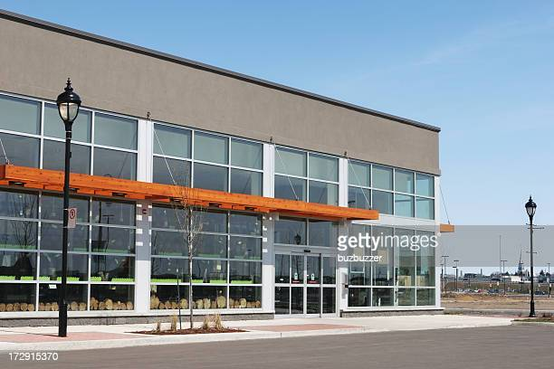 Modern Retailer Building Exterior