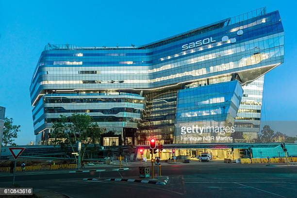 Modern Sasol Office building in Sandton City