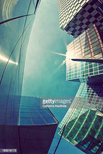 Modern Skyline, Dublin, Ireland