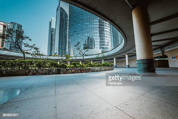 Modern skyscraper building in Guangzhou