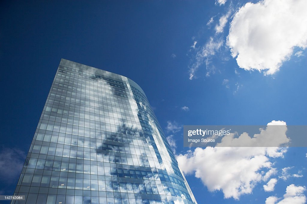 Modern skyscraper : Stock Photo