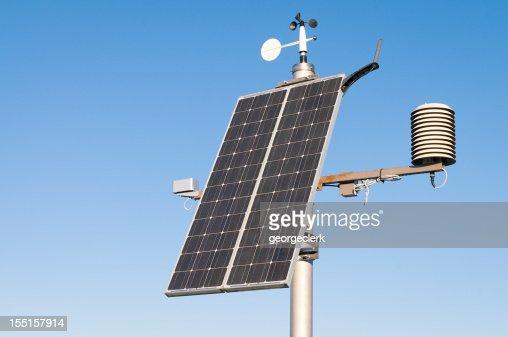 Modern Solar Powered Weather Station