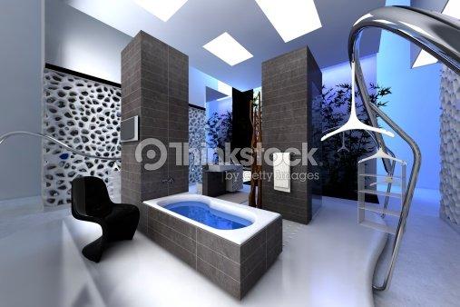 Maison Moderne De Luxe Interieur Salke De Bain : Spa moderne salle de bains photo thinkstock