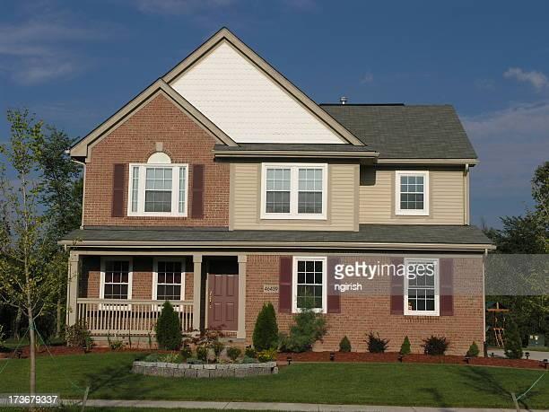 Maison de banlieue moderne