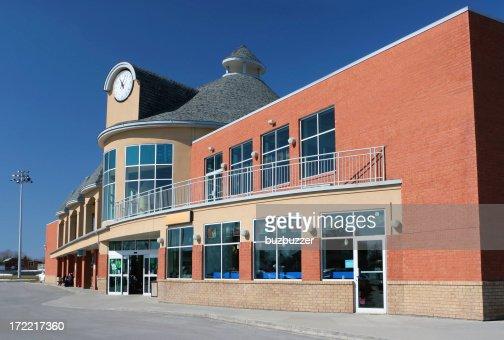 Modern Supermarket Building : Stock Photo