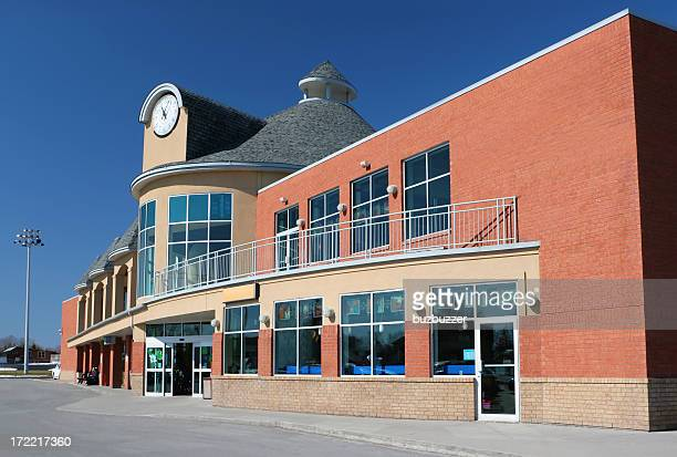 Modern Supermarket Building