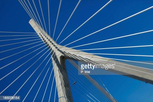 現代のつり橋