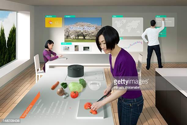 Modern technology life