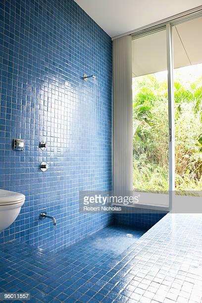 Modern tiled shower