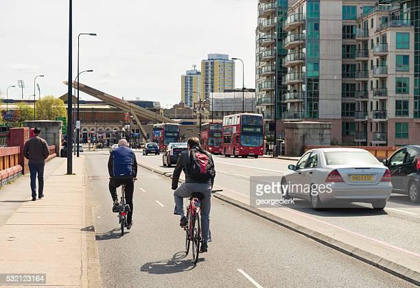 Moderne transport im Zentrum von London