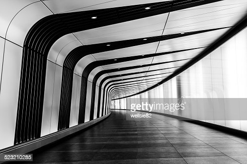 Modern tunnel at King's Cross