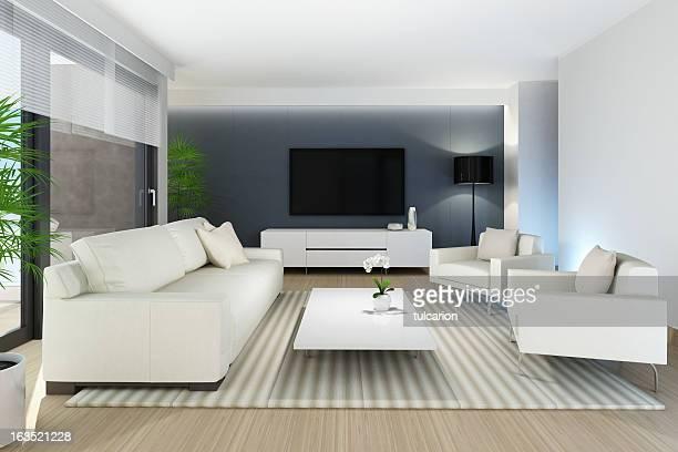 Moderne salle de télévision