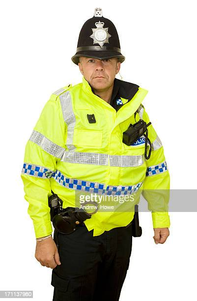 Modern UK Police Officer