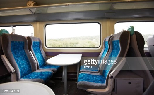 モダンな英国の鉄道仕切り
