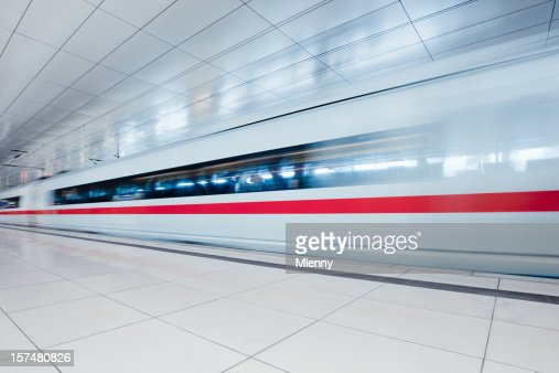 Modern Urban Train Station