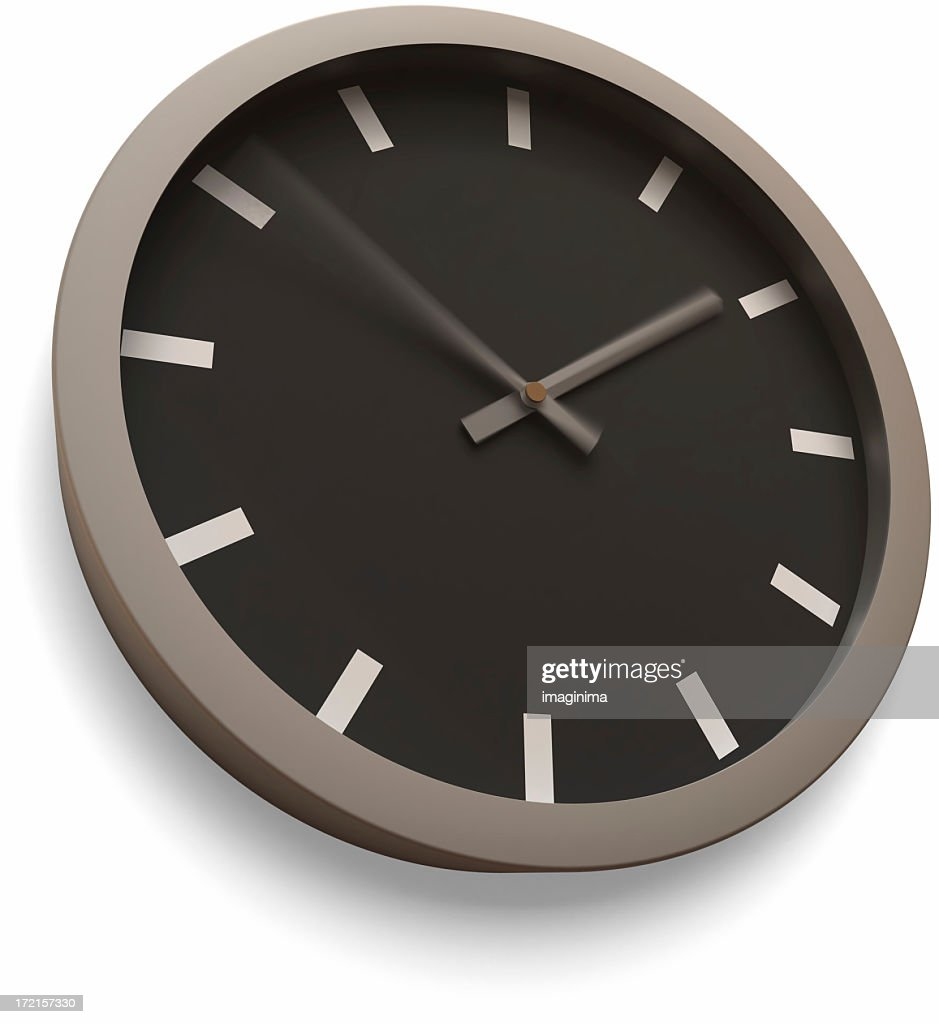 Modern wall clock time lapse stock photo getty images modern wall clock time lapse isolated with clipping path stock photo amipublicfo Image collections