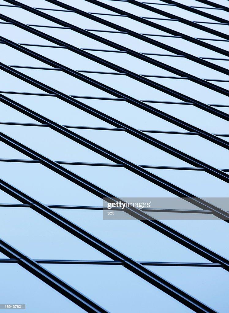 Modern window,close up : Stock Photo