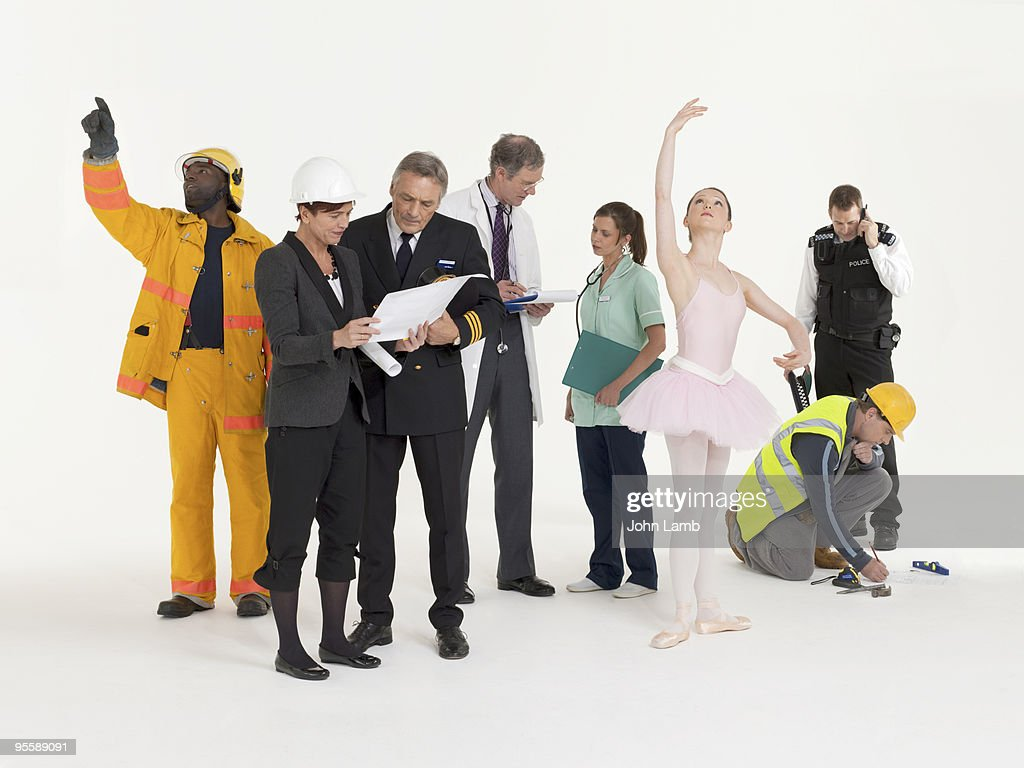 Modern workers : Stock Photo