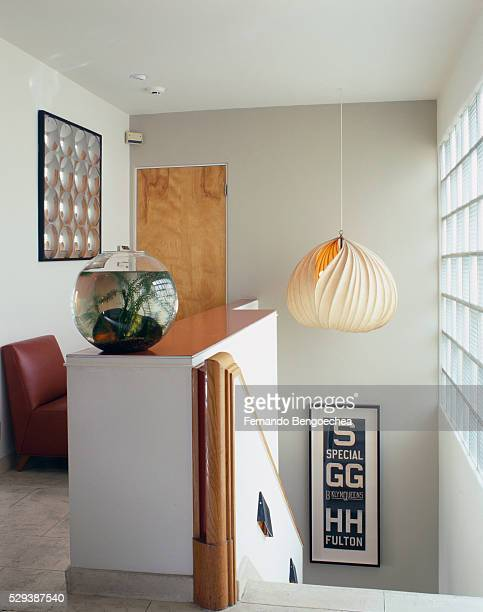 Modernist Makeover: Top of the Stairs