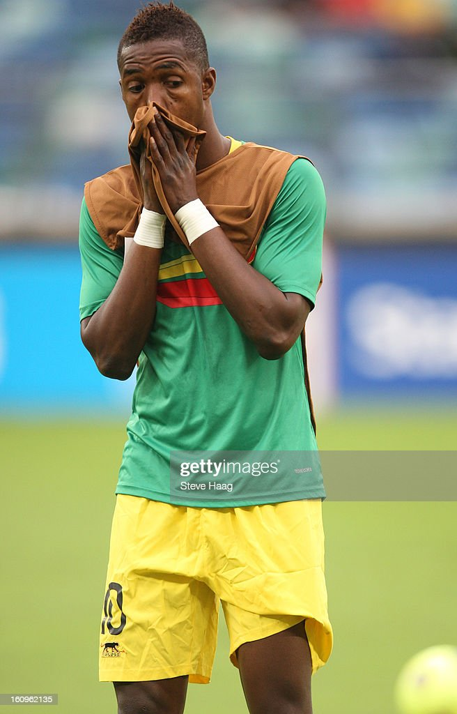 Modibo Maiga of Mali during the 2013 African Cup of Nations Semi-Final match between Mali and Nigeria at Moses Mahbida Stadium on February 06, 2013 in Durban, South Africa.
