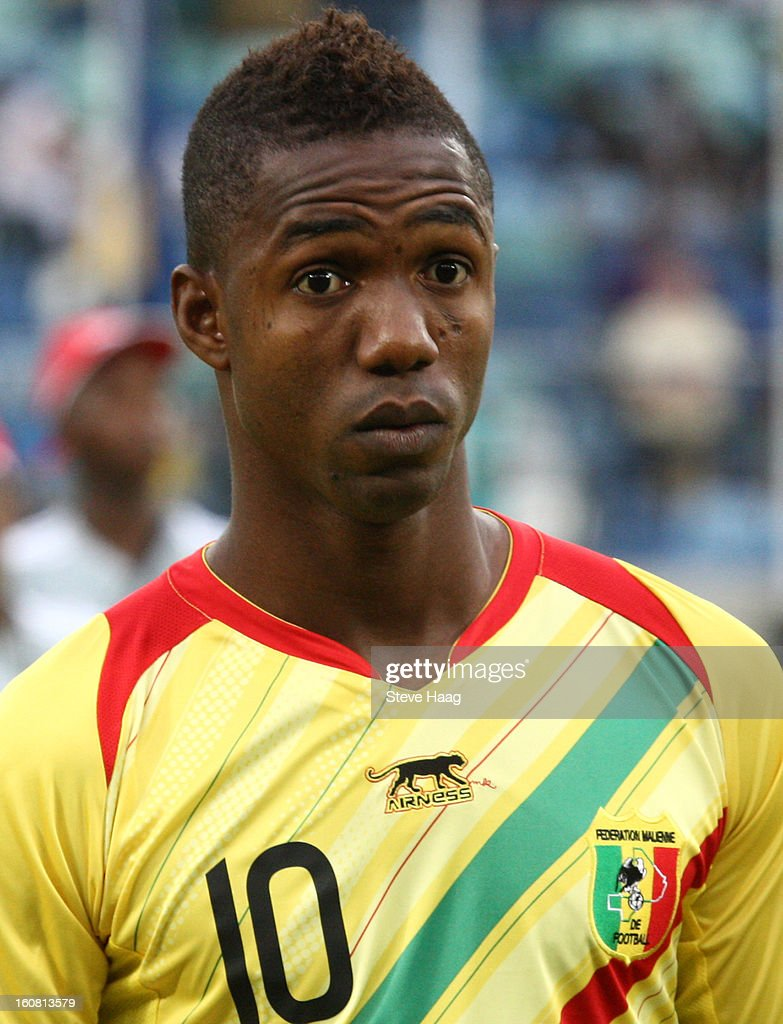 Modibo Maiga of Mali poses prior the 2013 African Cup of Nations Semi-Final match between Mali and Nigeria at Moses Mahbida Stadium on February 06, 2013 in Durban, South Africa.