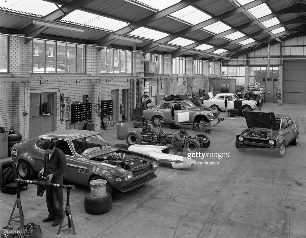 modified fords during race preparation littleborough greater pictures getty images. Black Bedroom Furniture Sets. Home Design Ideas