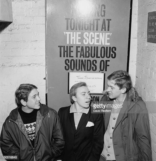 Mods at The Scene club in Soho London circa 1964