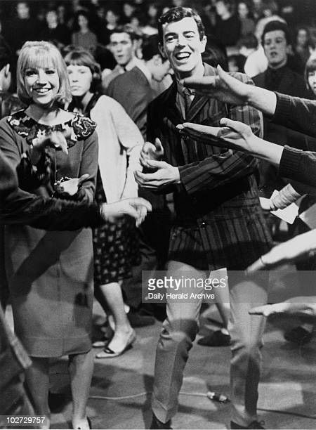 Mods dancing 3 February 1964 'Patrick Kerr and Theresa Confrey dancers on the TV programme 'Ready Steady Go' show some of the latest dance moves'...