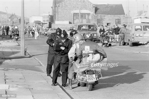 MODs in Redcar Middlesbrough 4th October 1985