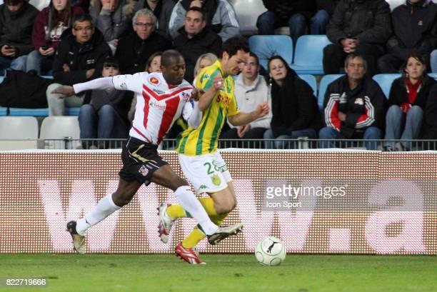 Mody TRAORE / Kevin LEJEUNE Nantes / Ajaccio 36e journee Ligue 2
