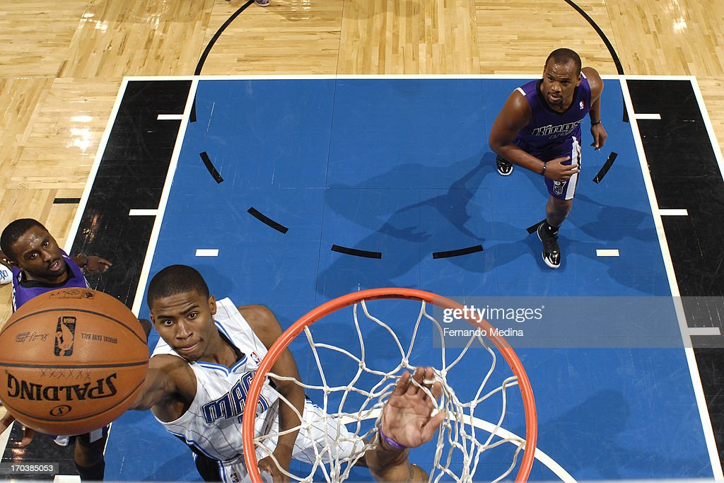 <a gi-track='captionPersonalityLinkClicked' href=/galleries/search?phrase=Moe+Harkless&family=editorial&specificpeople=8653497 ng-click='$event.stopPropagation()'>Moe Harkless</a> #21 of the Orlando Magic drives to the basket against the Sacramento Kings on February 27, 2013 at Amway Center in Orlando, Florida.