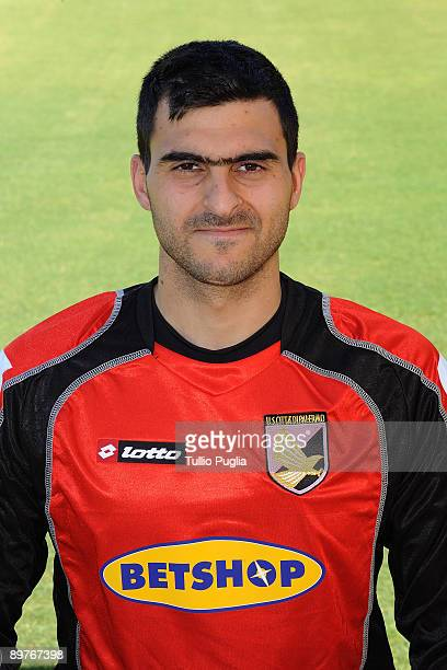 Moedim Rubens Ferdinando Rubinho player of USCitt� di Palermo football team poses for official headshot on August 06 2009 at 'Tenente Carmelo...