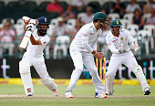 Moeen Ali of England bats during day five of the 2nd Test at Newlands Stadium on January 6 2016 in Cape Town South Africa