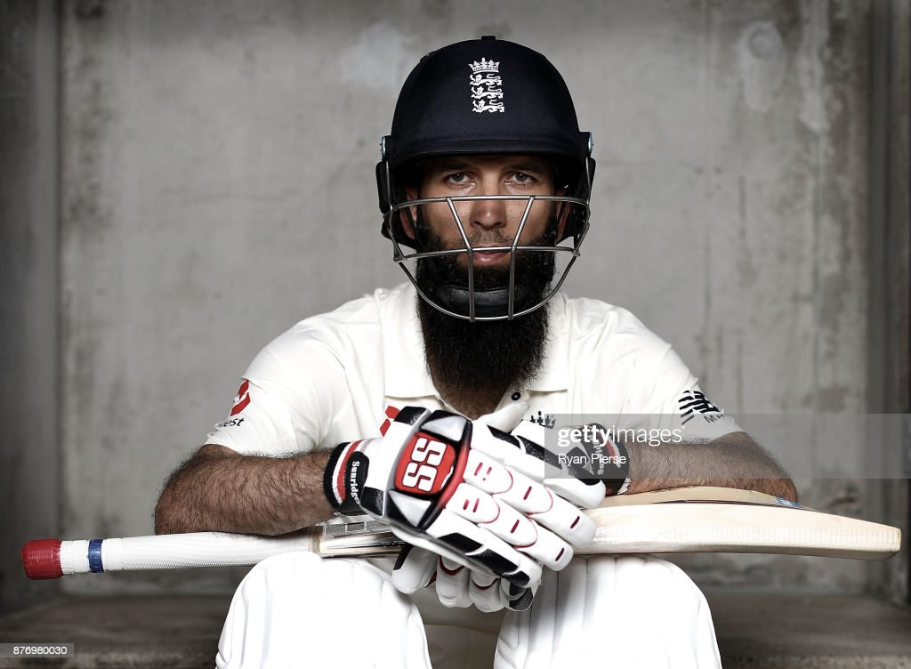 Moeen Ali Portrait Session