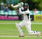 Moeen Ali of Worcestershire bats during the LV County Championship match between Worcestershire and Warwickshire at New Road on June 14 2015 in...