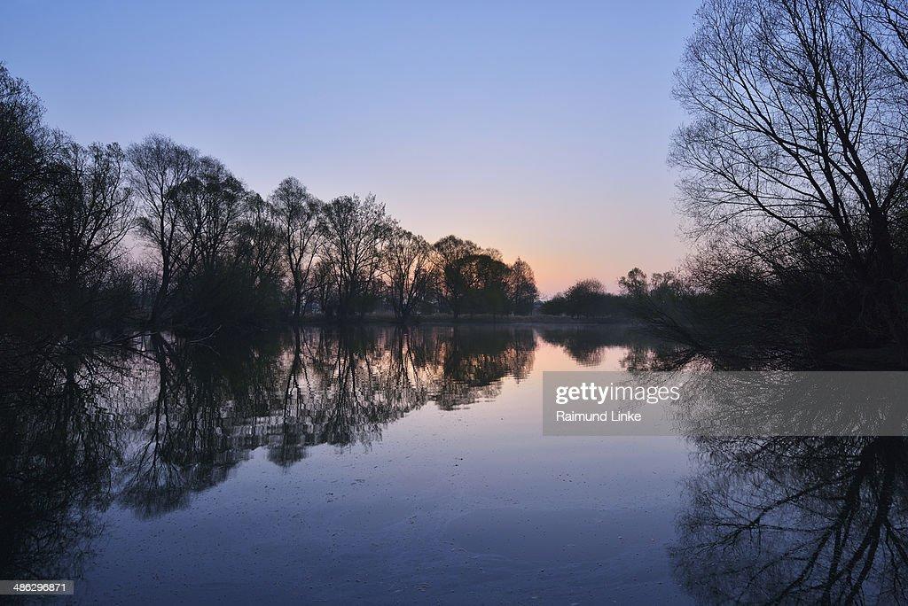 Moenchbruch Pond at Sunrise