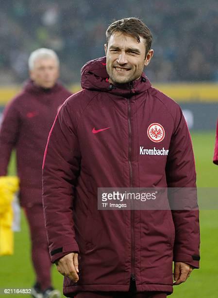 Moenchengladbach Germany 1 Bundesliga 9 Spieltag Borussia Moenchengladbach Eintracht Frankfurt CoTrainer Robert Kovac