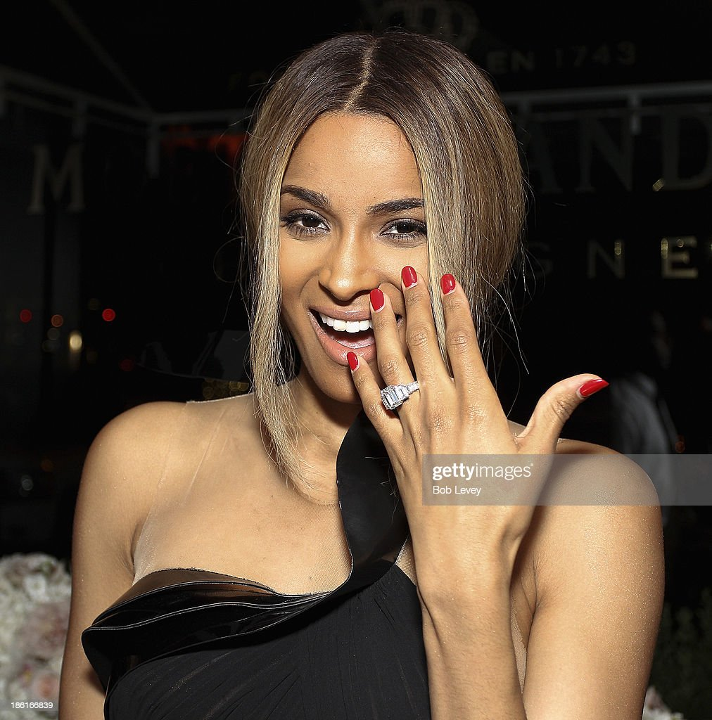 Moet Rose Lounge Houston Hosted By Ciara at The Hotel Derek on October 28, 2013 in Houston, Texas.