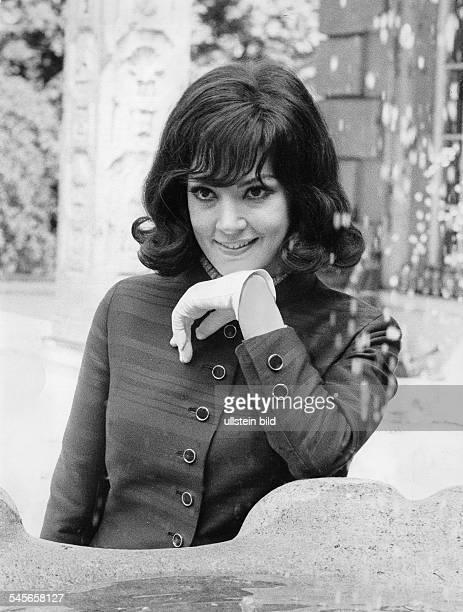 Moffo Anna *Opernsaengerin Schauspielerin USA Halbportrait 1969