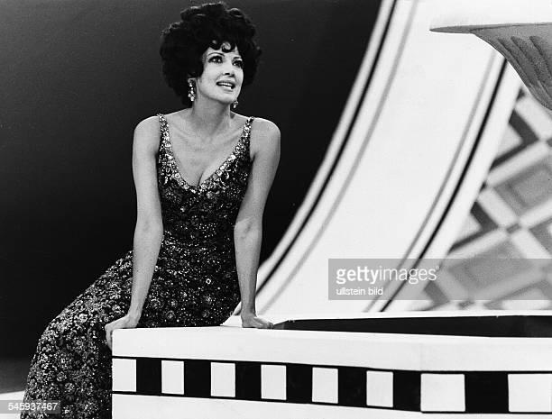Moffo Anna *Opernsaengerin Schauspielerin USA Portrait in ihrer ersten SFBShow Januar 1970