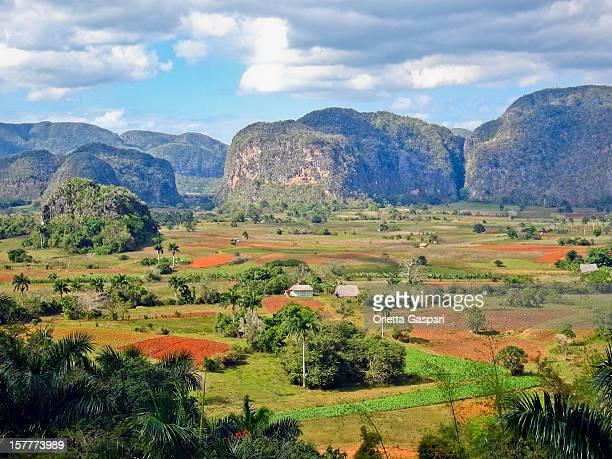 Mogotes dans la vallée de Viñales, Cuba