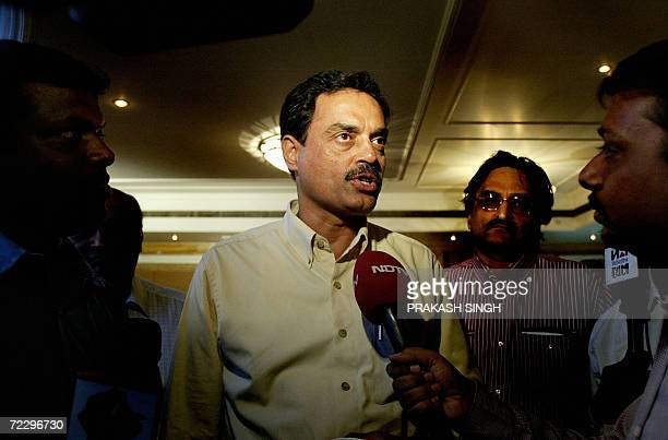 Board of Control for Cricket in India newly elected chairman of selectors Dilip Vengsarkar addresses the media after a press conference in Mohali 30...