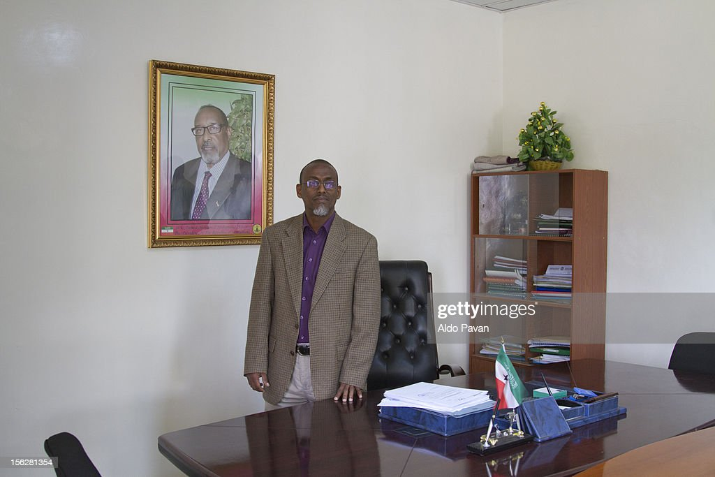 Mohamed Abdi Gabose, Minister of Interior : Stock Photo