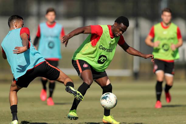 AUS: Western Sydney Wanderers Training Session