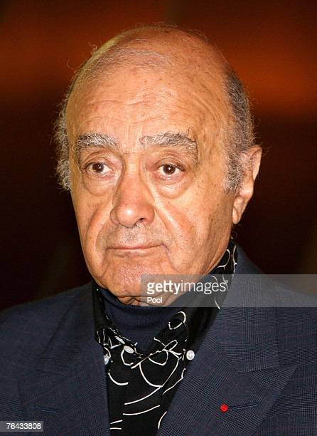 Mohamed Al Fayed observes a twominute silence in memory of Dodi Al Fayed and Diana Princess of Wales at the Harrods department store on August 31...