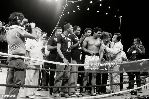Mohamed Ali in The Thrilla In Manila at the Philippines Philippine Coliseum Oct 1 1975