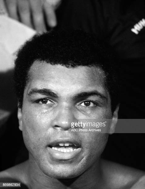 Mohamed Ali The Thrilla In Manila at the Philippines Philippine Coliseum Oct 1 1975