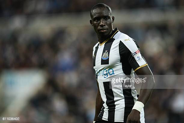 Mohamed Diame of Newcastle United during the Sky Bet Championship match between Newcastle United and Norwich City at StJames' Park on September 28...