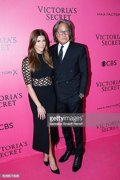 Mohamed Hadid and guest attend the 2016 Victoria's Secret Fashion Show Held at Grand Palais on November 30 2016 in Paris France